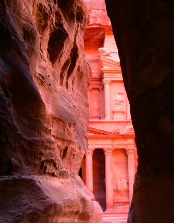 First Peek of Petra