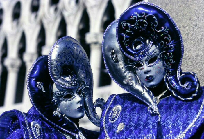 Blue carnival