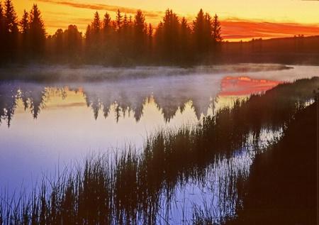 Sunrise, Snake River