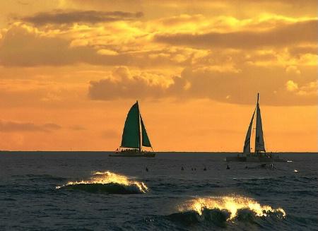 sunset sail 3