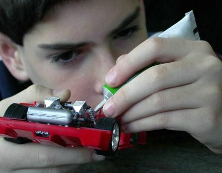 building his dream car