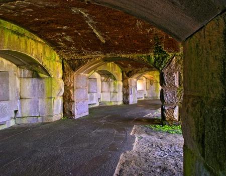 Abandoned WW I Fort