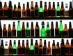empty bottles of ...