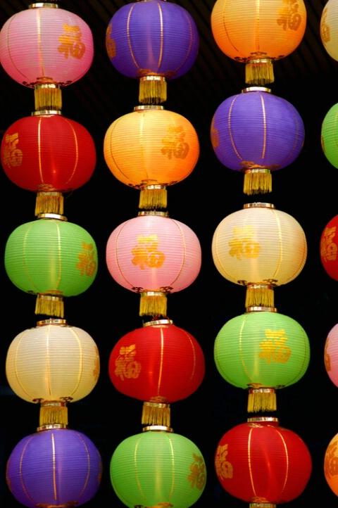 Lanterns and more lanterns