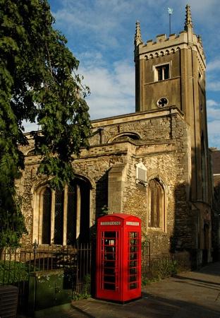 Cambridge phonebooth