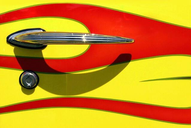 Street Rod Door Handle
