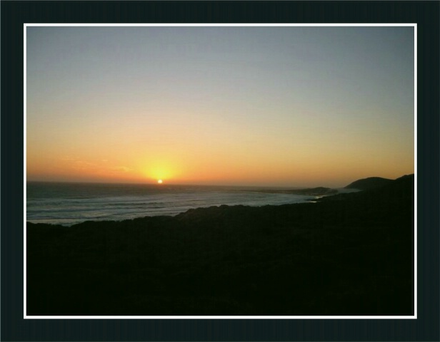 Sunset at Cape of good hope
