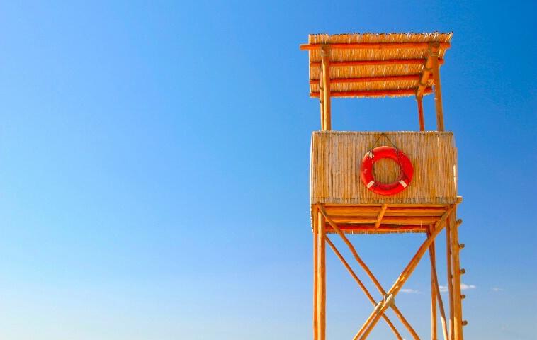 No Lifeguard On Duty - ID: 689229 © Cynthia M. Wiles