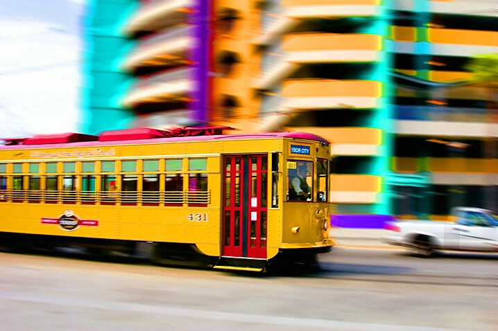 Colorful Cable Car - ID: 754485 © Wendy M. Amdahl