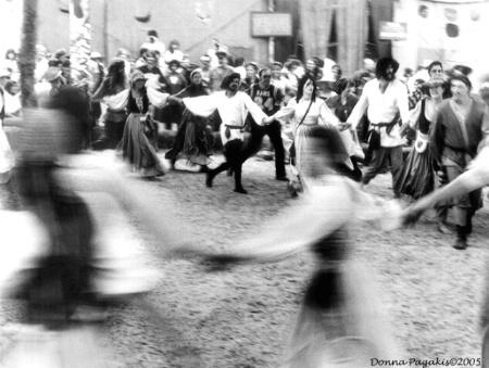 Dancing at the Renaissance Faire