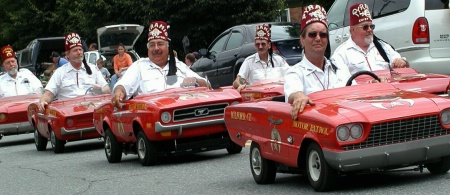 Shriners Parade