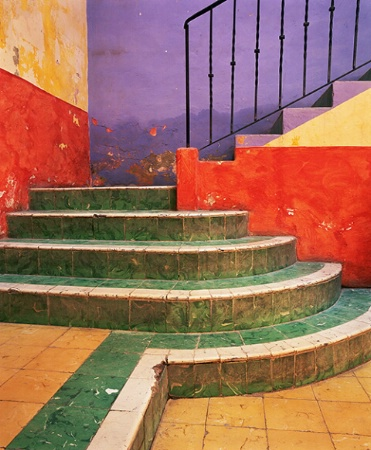 San Miguel Colorful Stairs