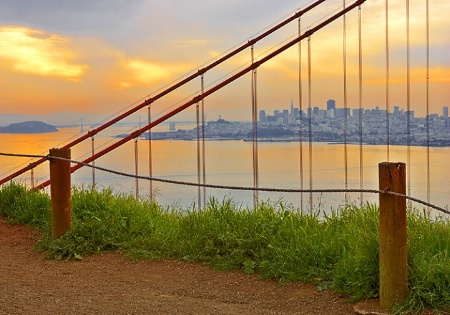 Dawn at Golden Gate