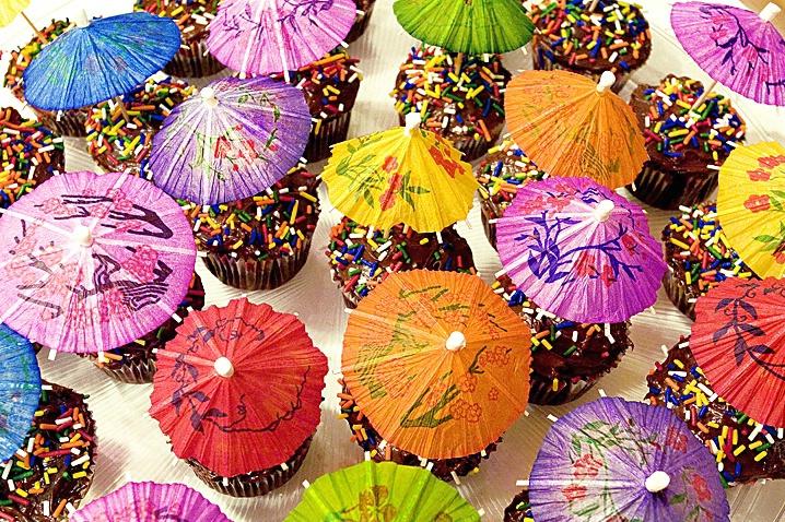 Umbrella Cupcakes - ID: 846338 © Wendy M. Amdahl