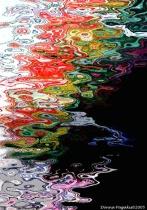 Kayak Ripples - Abstract