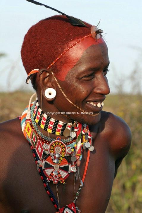Kenyan Samburu man #2 7668 - ID: 916163 © Cheryl  A. Moseley
