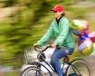 Biker with ballon...