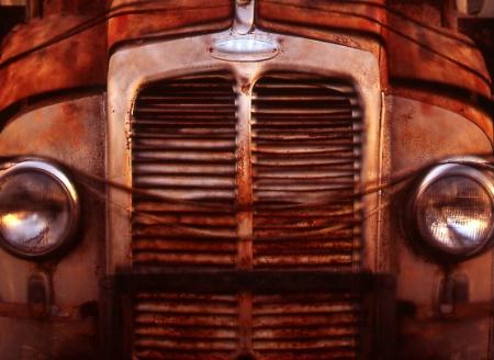 Antique Coke Truck
