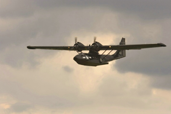 Consolidated PBY-5A Catalina (1)-Akron Airshow - ID: 1004722 © James E. Nelson
