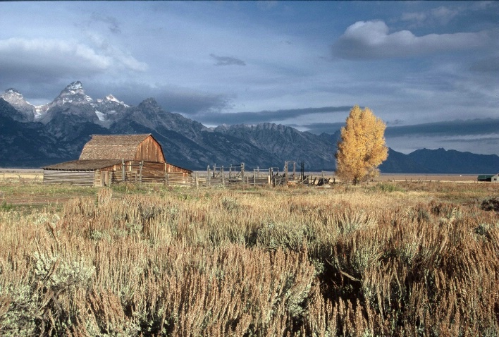 WY0004 Moulton Barn, Grand Teton Nat'l Park, W