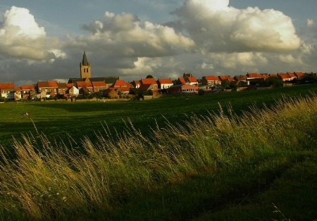 my village in Flanders Belgium