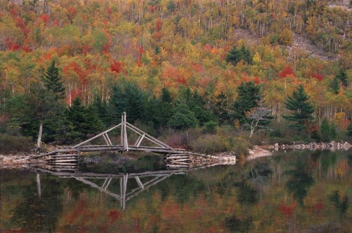Jordan Pond Bridge - ID: 1135139 © Nora Odendahl