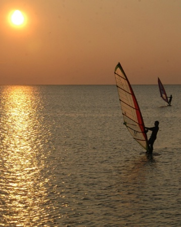 Windsailing in the Outer Banks