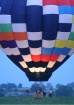 Balloon at dusk