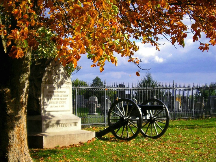 Fall at Gettysburg National Cemetery - ID: 1332684 © Ken Cole