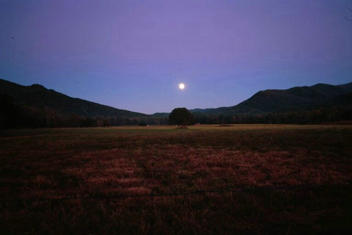 Moonrise, Great Smokey Mtns. N.P., 10.20.05 - ID: 1395193 © Michael S. Couch