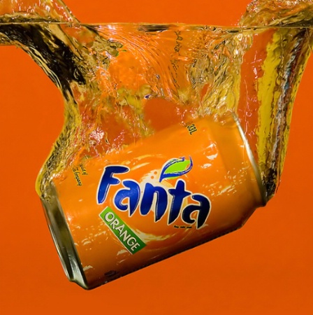 Fanta splash