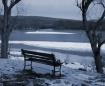Winter Bench In B...