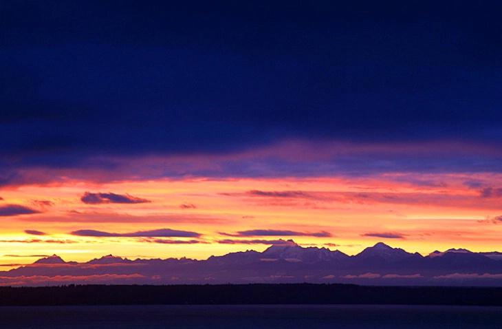 Fiery Sunset - ID: 1733246 © Janine Russell