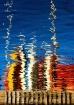 Boats reflected