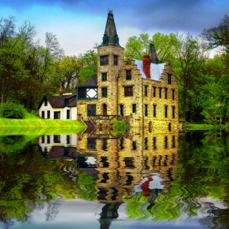 A Flooded Castle in Middle Ohio