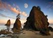 Moonset at Sunris...