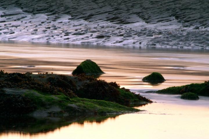 Rocks, Water & Sand