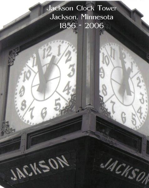 Jackson Clock Note Card - ID: 2304576 © Eric B. Miller