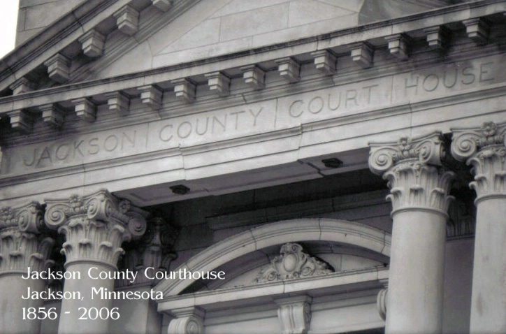 Jackson Courthouse Face Postcard - ID: 2304577 © Eric B. Miller