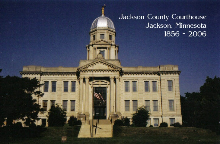 Jackson Courthouse Front Postcard - ID: 2304578 © Eric B. Miller