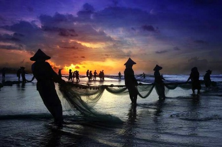 Photography Contest Grand Prize Winner - July 2006: Fishermen