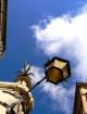 The big blue sky