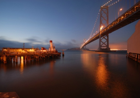 Facing East - San Francisco Reflections 1