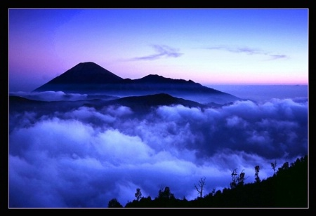 Mt Semeru Sunset