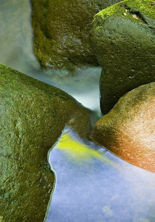 Rock and Water Abstract