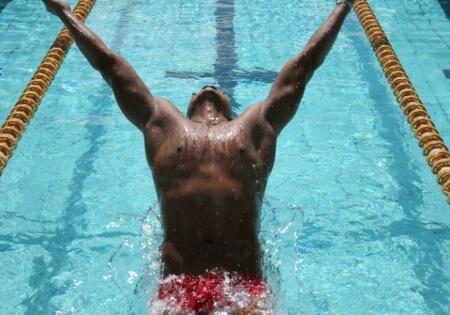 start in back swim 2