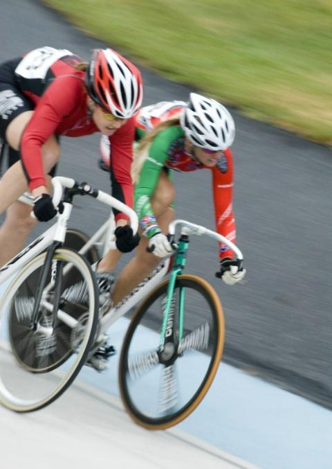 Bike Race, to the Finish Line