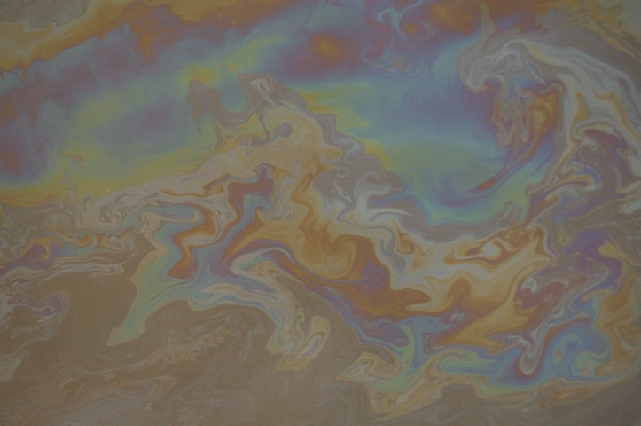 Oil & Water Color 3 - Evil Satellite Imagery