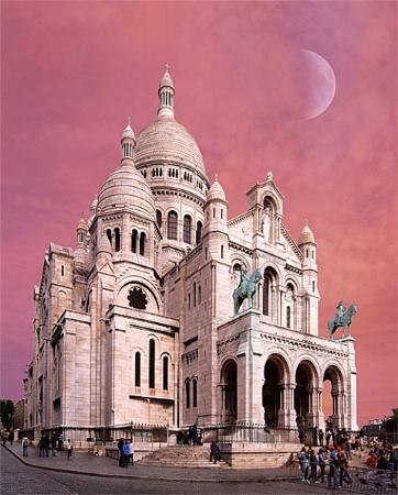 The Basilica of the Sacred Heart, Paris