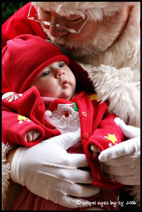 kiss from santa